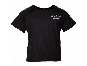 Augustine Old School Work Out Top - Black