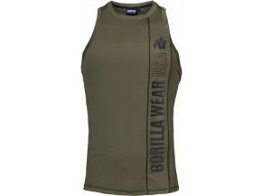 branson tank top army green black
