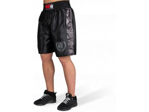 vaiden boxing shorts black gray camo