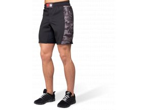 kensington mma fightshorts black gray camo
