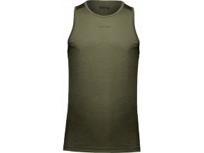 madera tank top army green