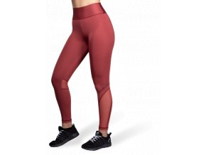 kaycee tights burgundy red