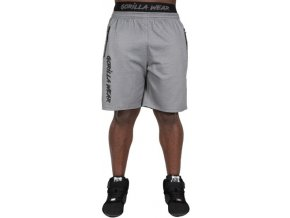mercury mesh shorts gray black