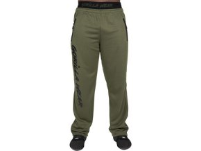 mercury mesh pants army green black