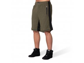 augustine old school shorts army green