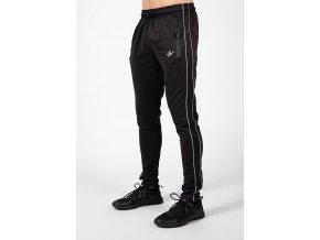 wenden track pants black white