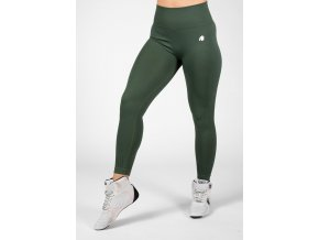 Neiro Seamless Leggings- Army Green