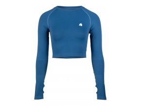 91603300 hilton seamless long sleeve blue 01