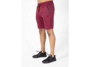 90959500 wenden shorts burgundy red