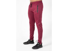 90960500 wenden track pants burgundy red 43