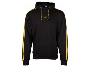 90716920 banks oversized hoodie burgundy black yellow 01