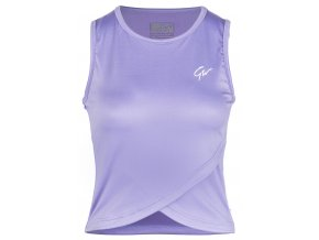91527700 estelle twisted crop top lilac 3
