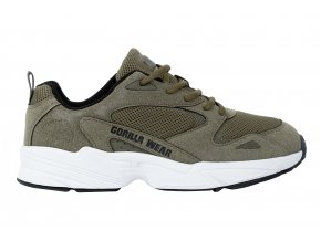 90010409 newport sneakers army green 1