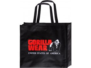 non woven gorilla wear bag black red small 10 pieces poly pack