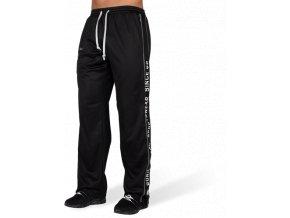 functional mesh pants black white