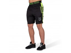 9091492 shelby shorts black neon lime 010