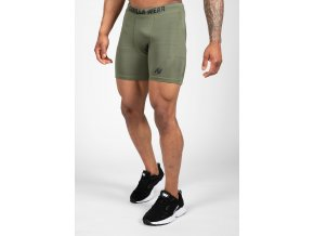90951409 smart shorts army green 16