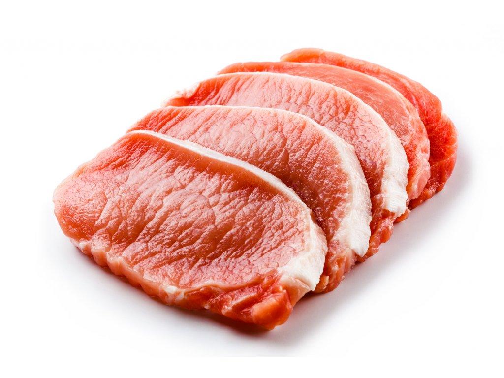 Vepřová pečeně steak na gril marinovaný