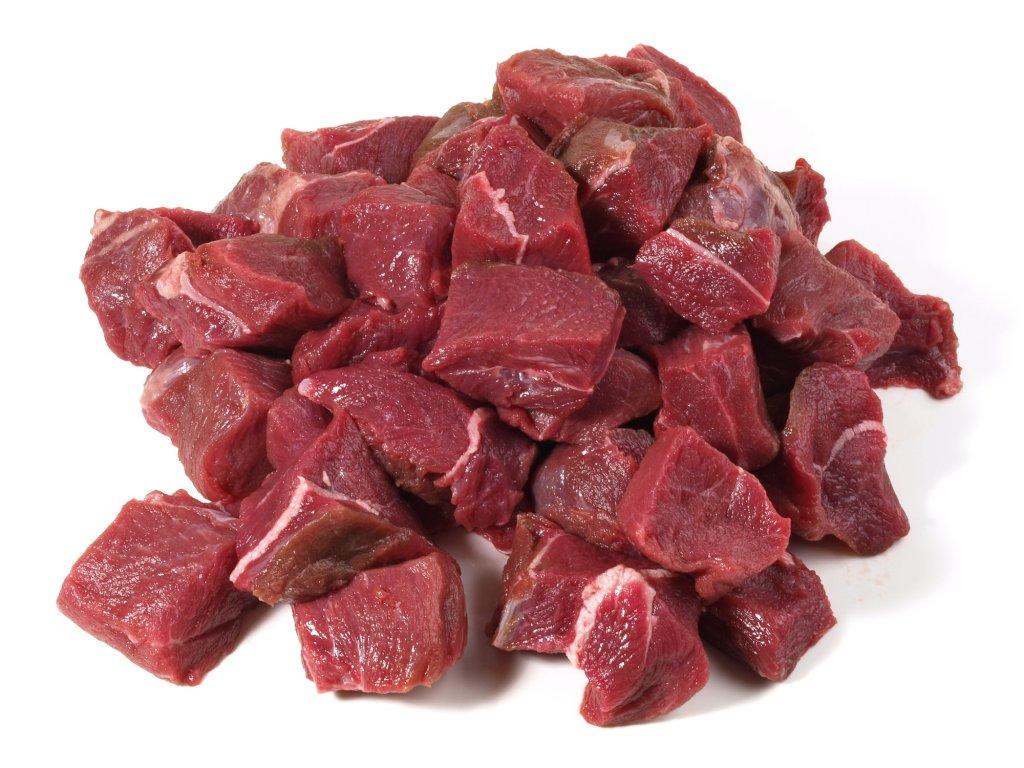 Kančí maso na guláš divočák