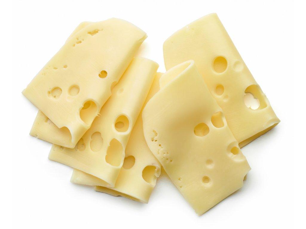 Sýr švýcárek ementálského typu