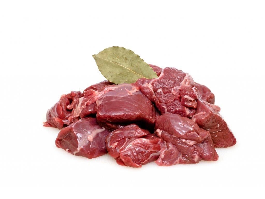 Jelení maso na guláš