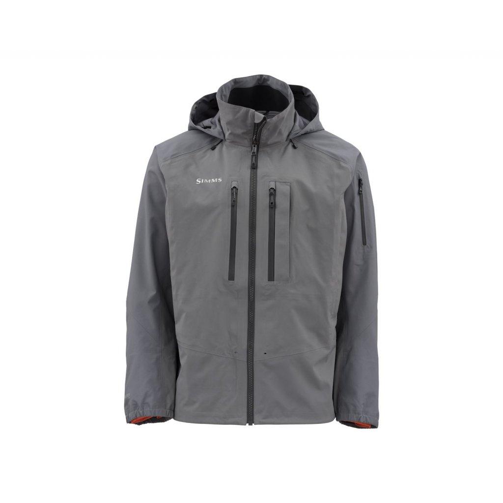 Bunda Simms G4 Pro Jacket (Barva Slate, Materiál GORE-TEX® Pro Shell, Velikost XXL)
