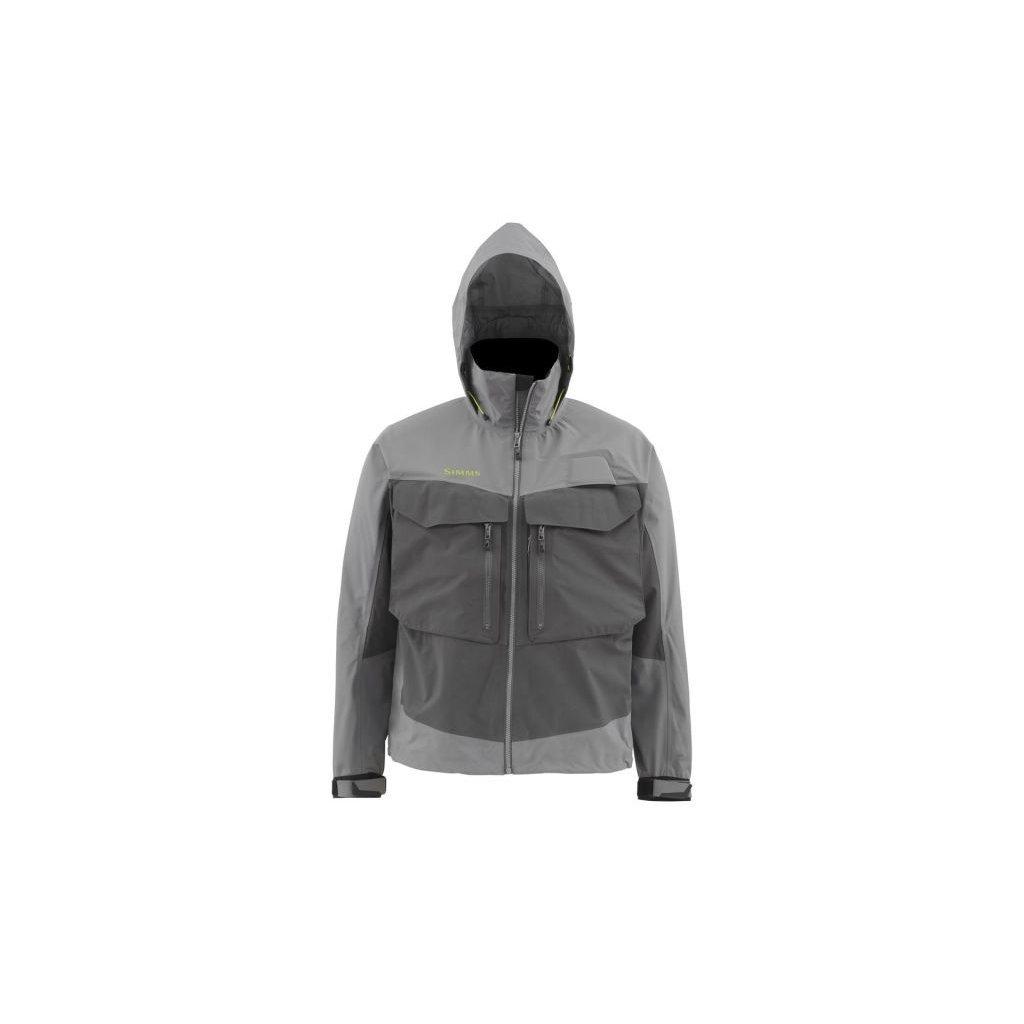 Bunda Simms G3 Guide Jacket (Barva Lead, Materiál GORE-TEX® Pro Shell, Velikost XXL)
