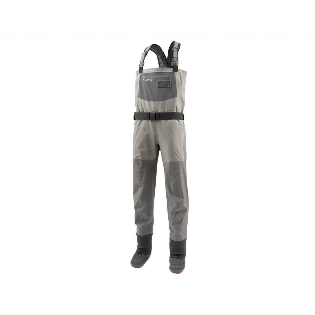 Brodící kalhoty Simms G4 Pro Stockingfoot (Barva Gunmetal, Materiál GORE-TEX® Pro Shell, Velikost XXL)