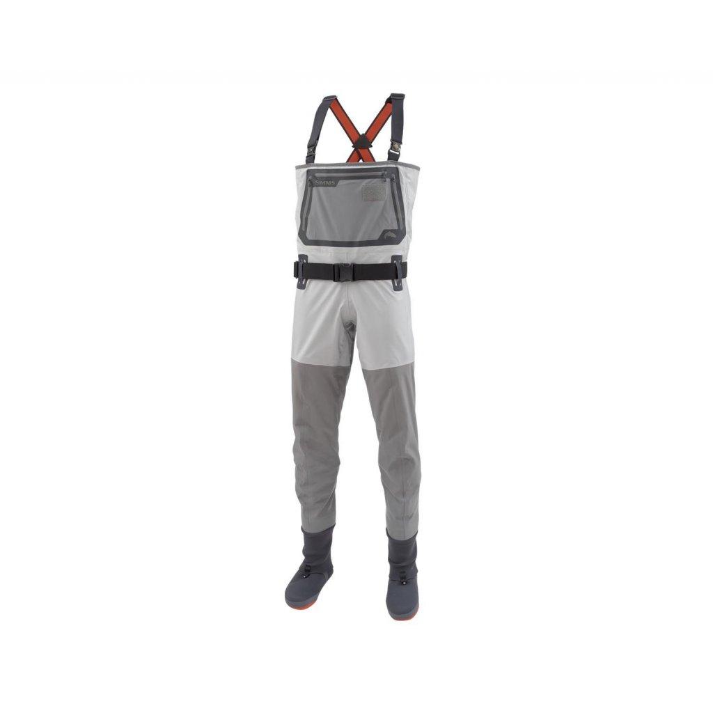 Brodící kalhoty Simms G3 Guide Stockingfoot (Barva Gunmetal, Materiál GORE-TEX® Pro Shell, Velikost XXL)
