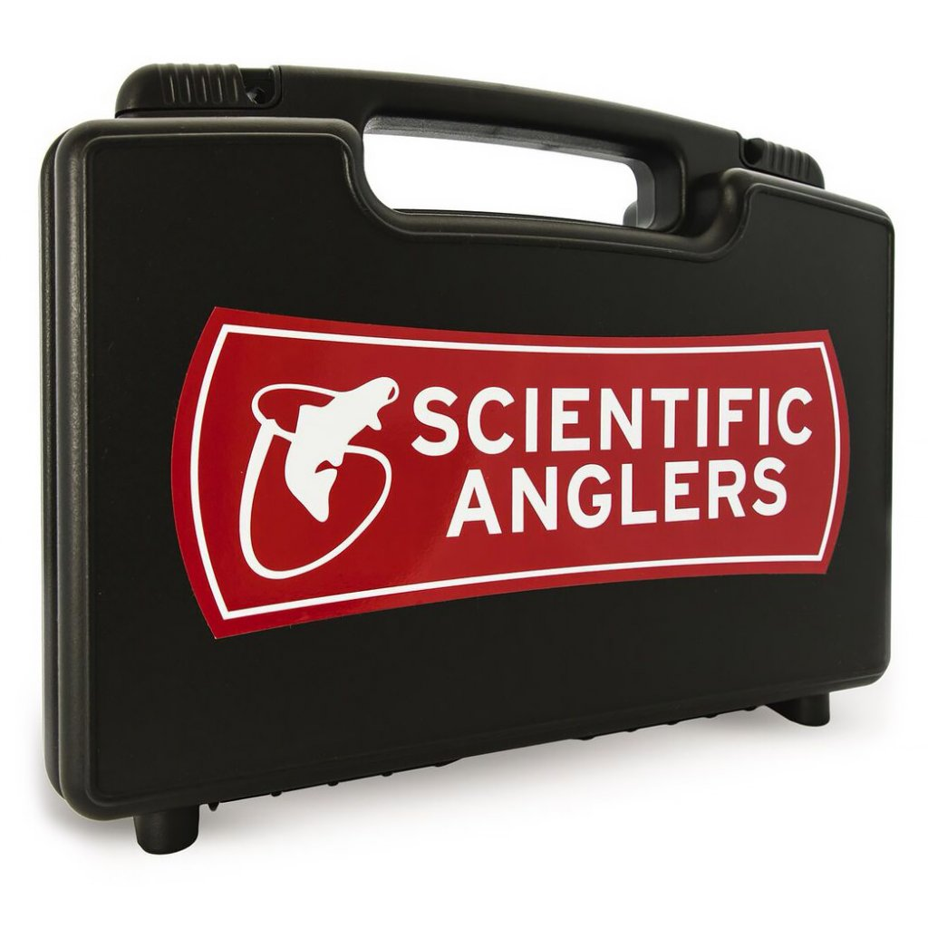 scientific anglers boat box fly case back
