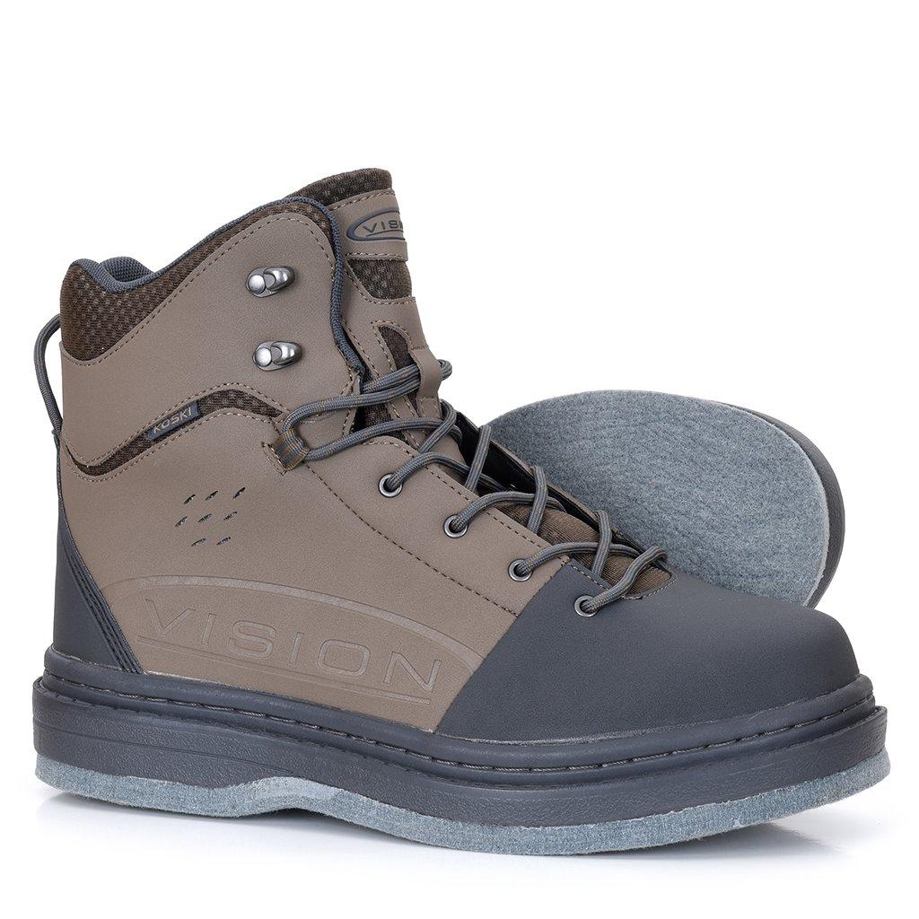 Brodící boty Vision Koski - podrážka s filcem