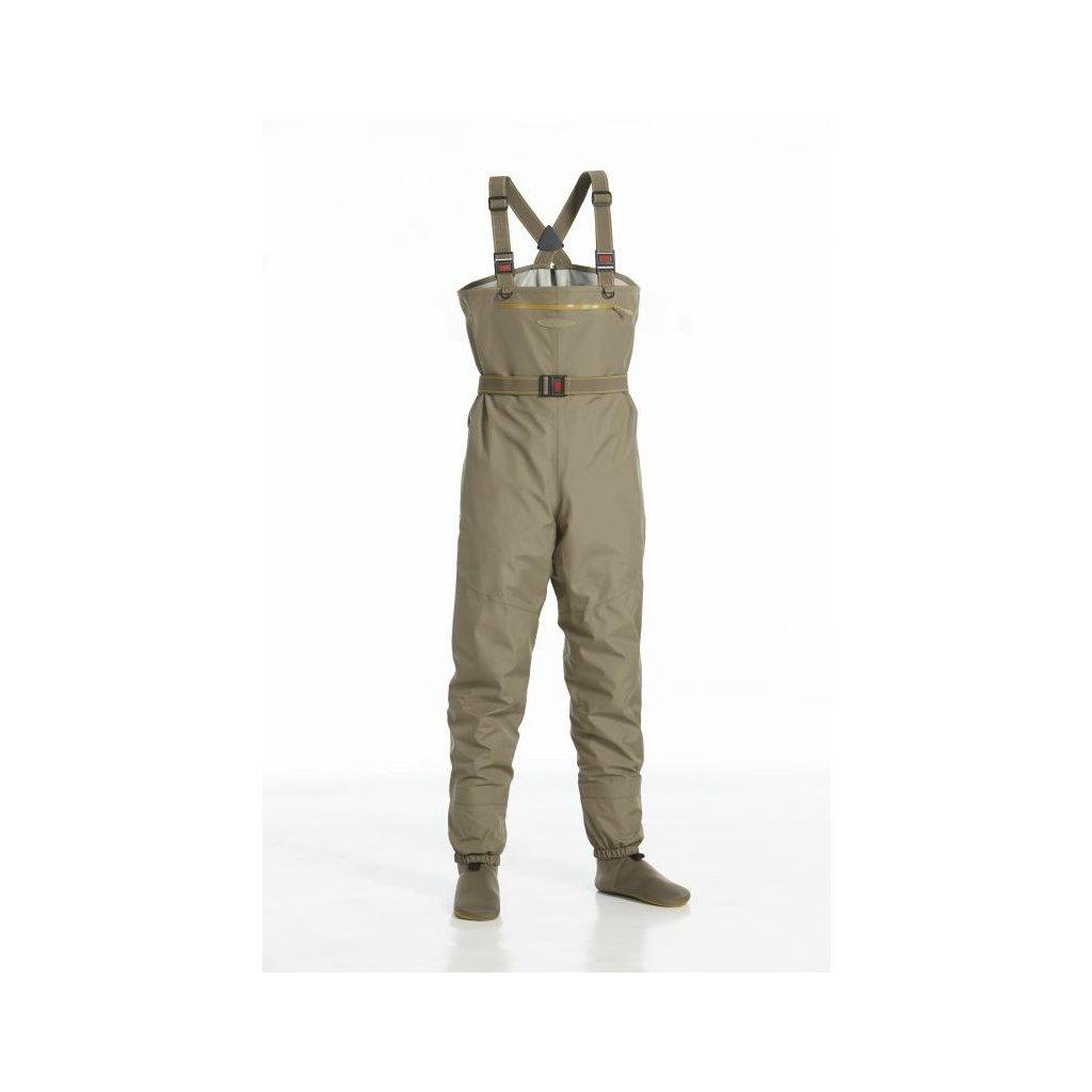 Brodící kalhoty Vision Hopper (Barva Indická khaki, Materiál F3 FABRIC TECHNOLOGY, Velikost XLS)