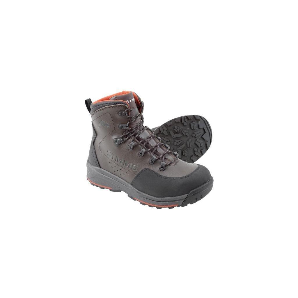 Brodící boty Simms Freestone Boot (Barva Šedá, Materiál Kominace syntetiky s neoprenem, Velikost 15)