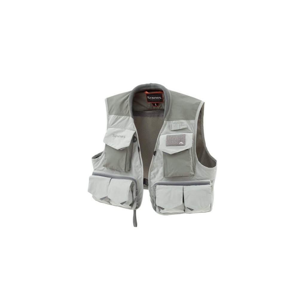 Rybářská vesta Simms Freestone Vest (Barva Sand, Materiál 100% Nylon; 100% polyester, Velikost XXL)
