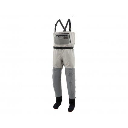 Brodící kalhoty Simms Headwaters Pro Stockingfoot (Barva Gunmetal, Materiál GORE-TEX® Pro, Velikost XXL)