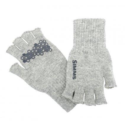 Rukavice Simms Wool Half Finger Glove (Velikost S/M)
