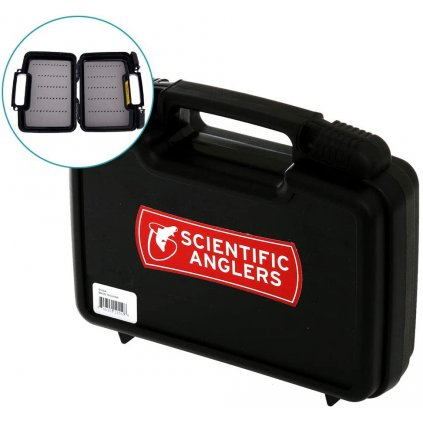 scientific anglers boat box fly case back L
