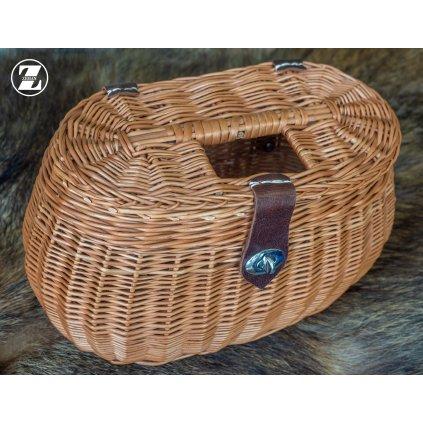Proutěný košík - rákos