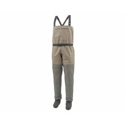 Brodící kalhoty Simms  Tributary Stockingfoot (Barva Platinová, Materiál TORAY, Velikost XXL)
