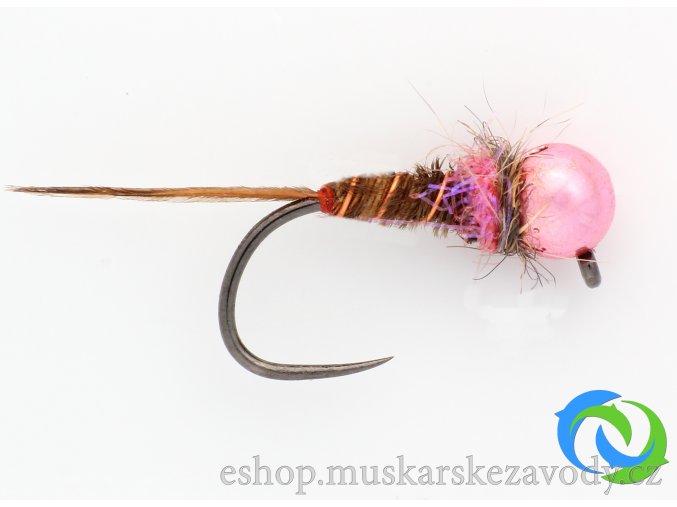 Růžový bažant - pink