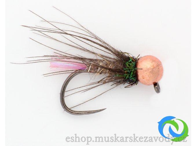Neonka tmavá - copper