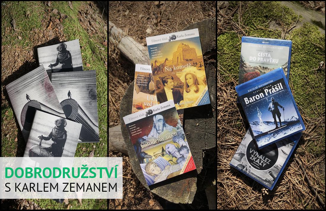 Sešity a filmy Karla Zemana