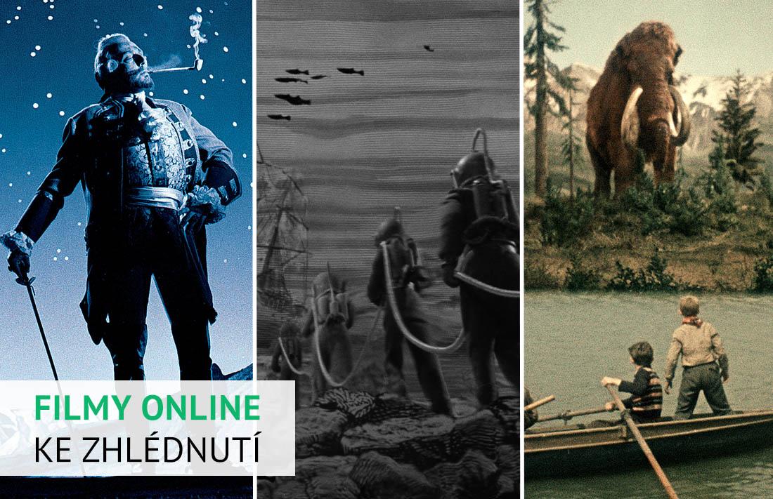Filmy Karla Zemana online ke zhlédnutí