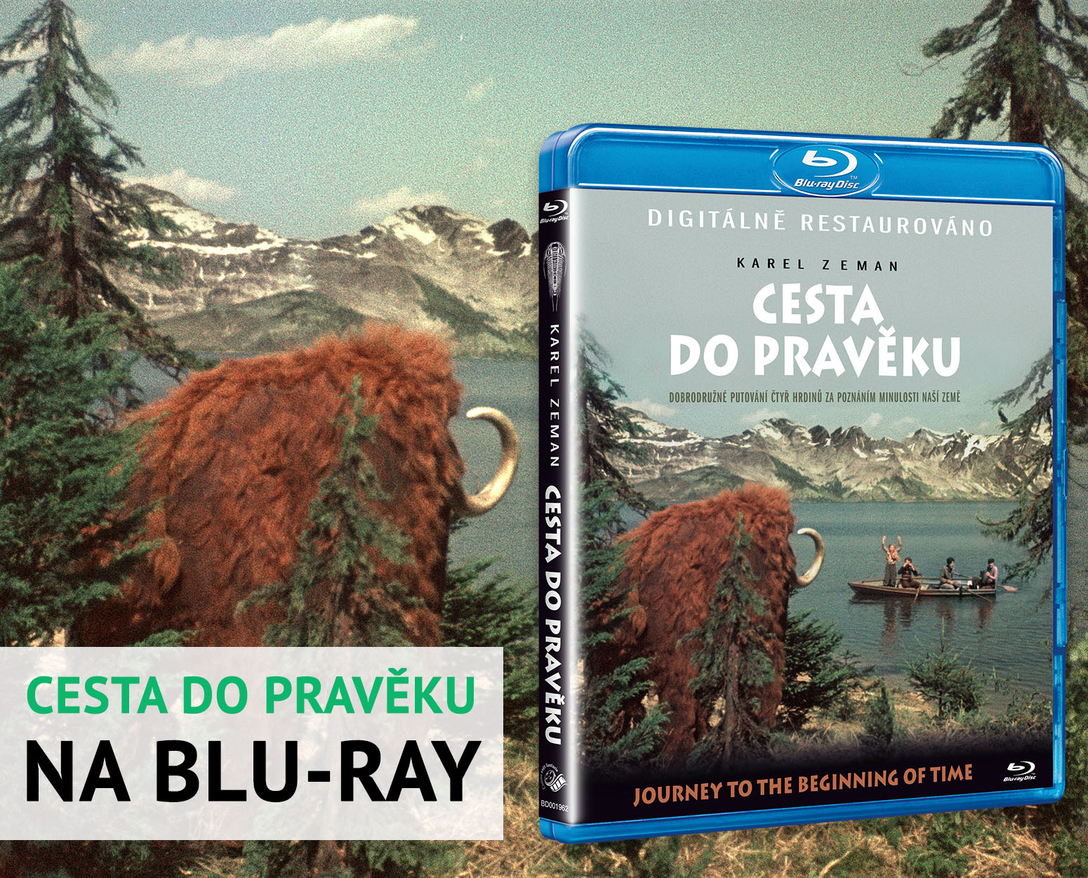 Blu-ray Cesta do pravěku