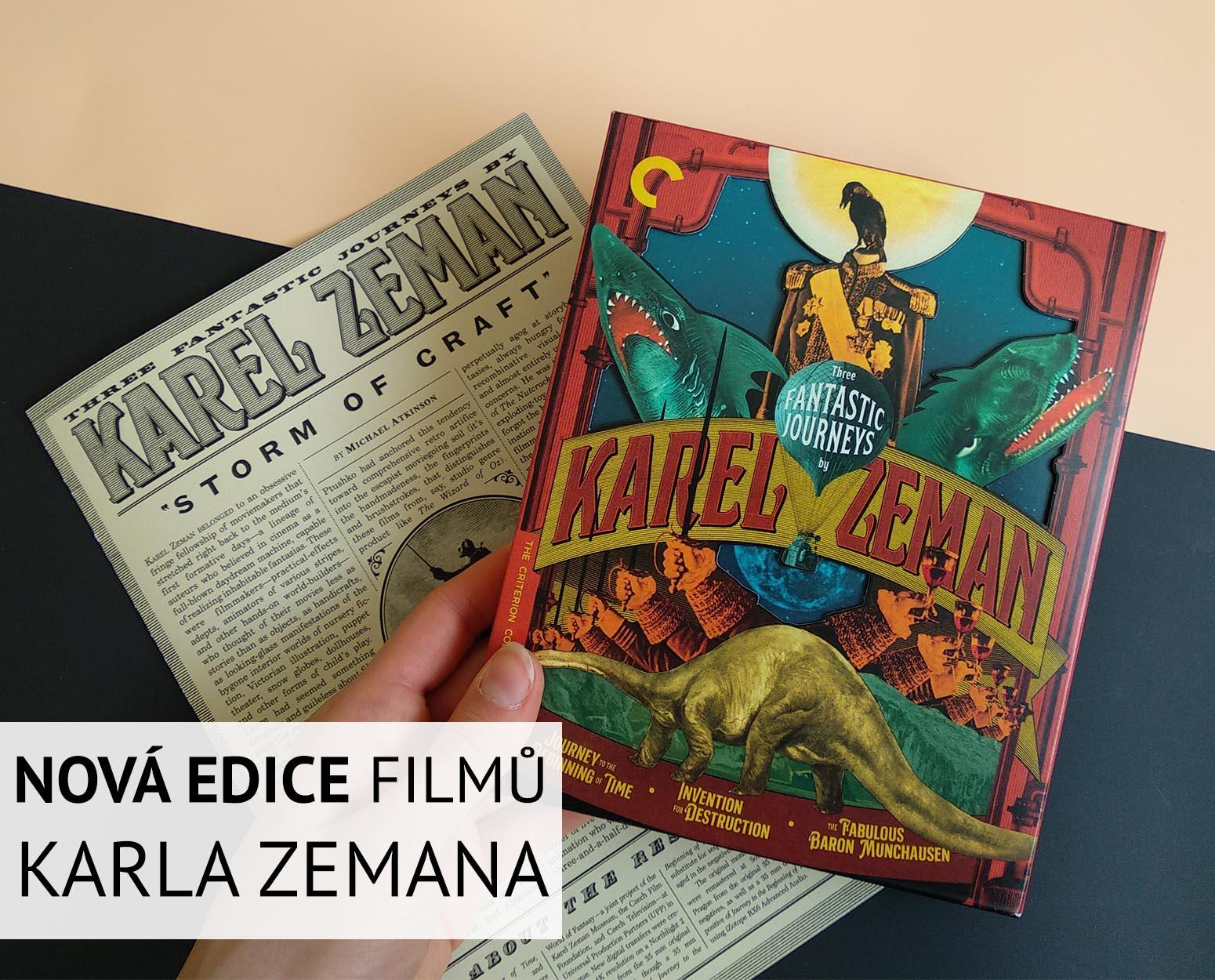 Nová edice filmů Karla Zemana