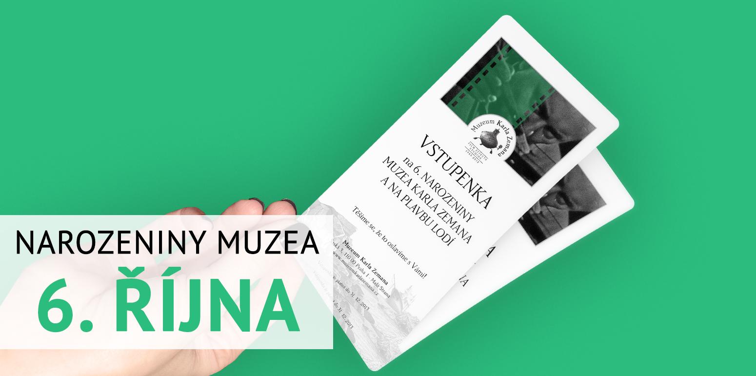 Narozeniny Muzea Karla Zemana