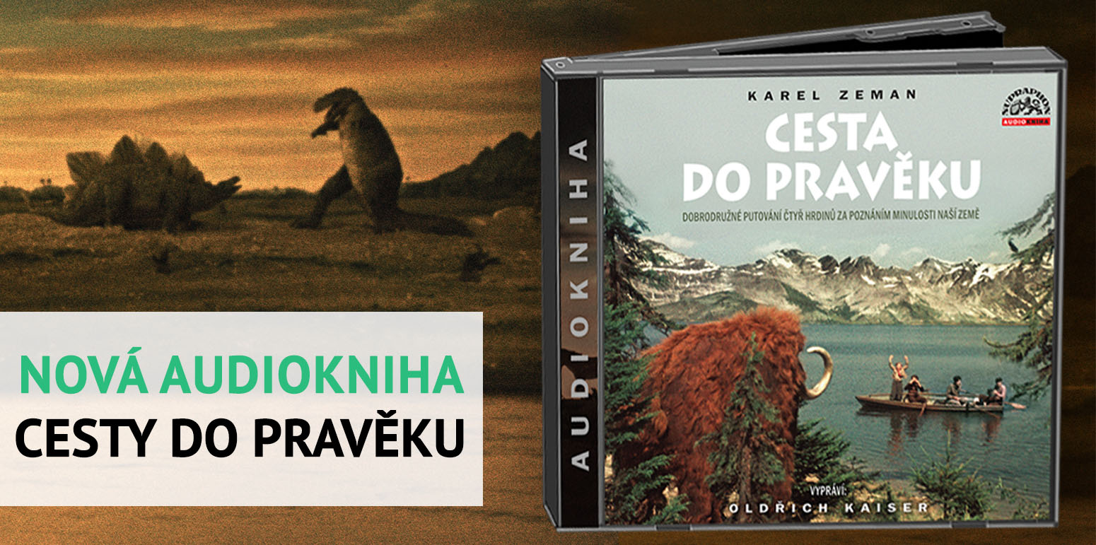 Audiokniha Cesta do pravěku