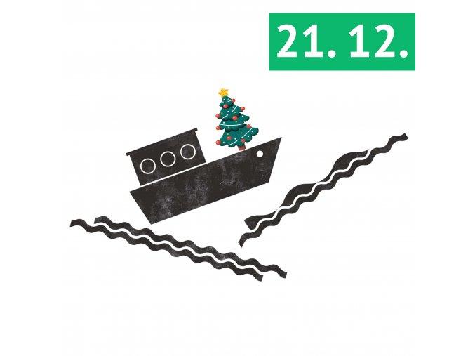 Vánoční workshop ploškové animace • 21. 12. od 10:30 do 13 hod.
