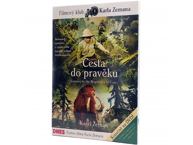 DVD Cesta do pravěku 1