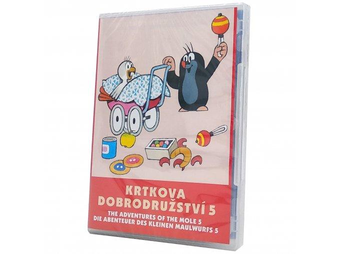 DVD Krtkova dobrodružství 5 1